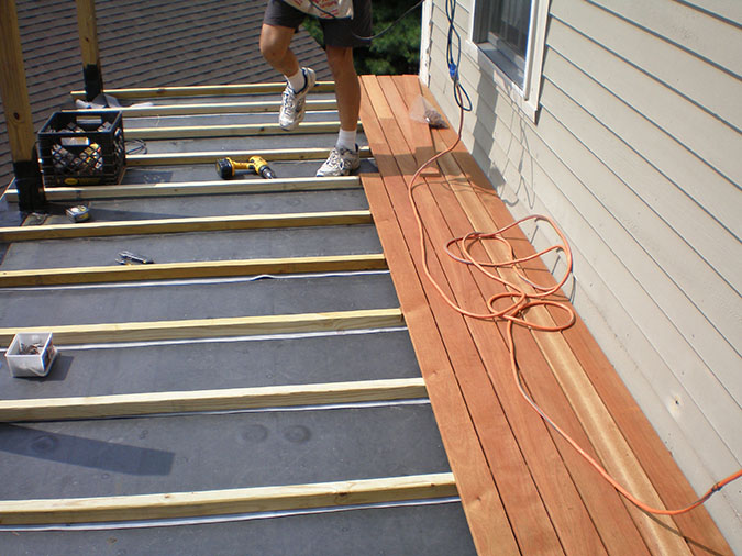 Deck Build Colony Home Improvement