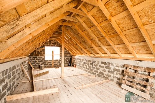 lean to attic space ideas - Home Improvement Contractors Can Turn the Attic in Your